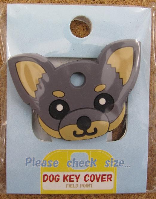 D00370 狗狗匙套 Dog Key Cover 芝娃娃 (灰)