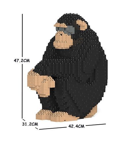 Jekca 黑猩猩 Chimpanzee 01C (需訂貨)