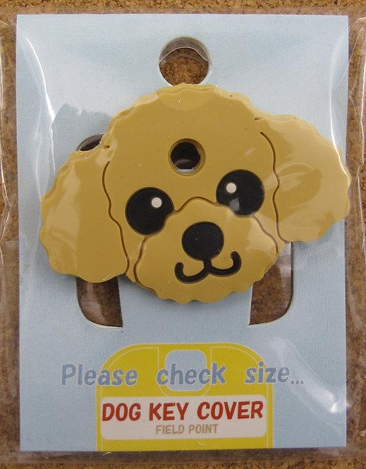 D00362 狗狗匙套 Dog Key Cover 貴婦犬 (淺啡)