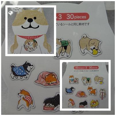 D01885_3 Shibanban Collection Sticker_cream