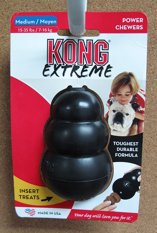 D00820 KONG Extreme Black Medium