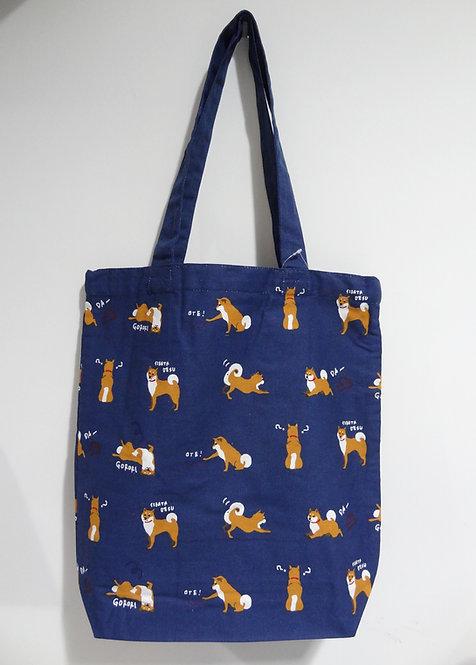 D01799_16 柴田tote bag(藍)