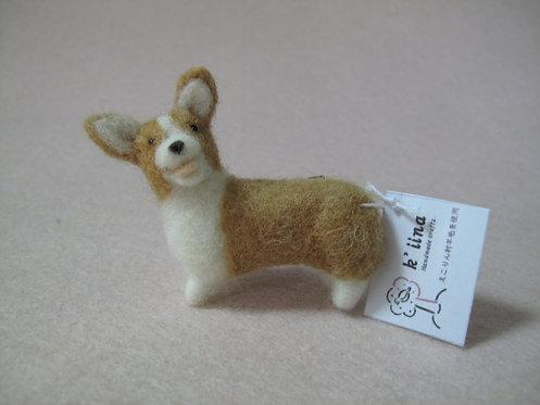 D00716 日本手製羊毛氈哥基扣針 (大)