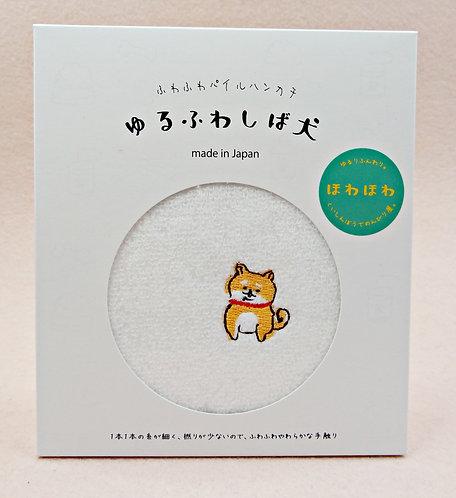 D02686_8 日本製全棉刺繡毛巾_ほわほわ