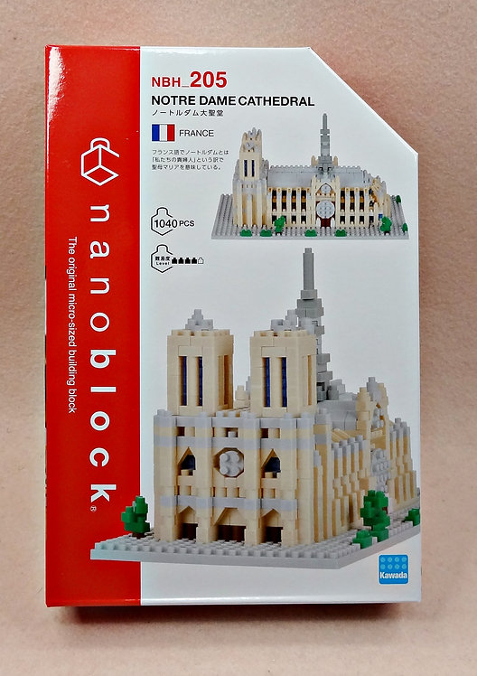 nanoblock NBH_205 Notre Dame Cathedral
