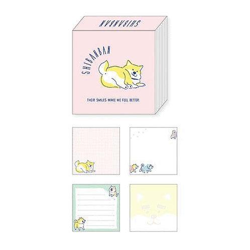 D02365_4 Shibanban memo pad_粉紅