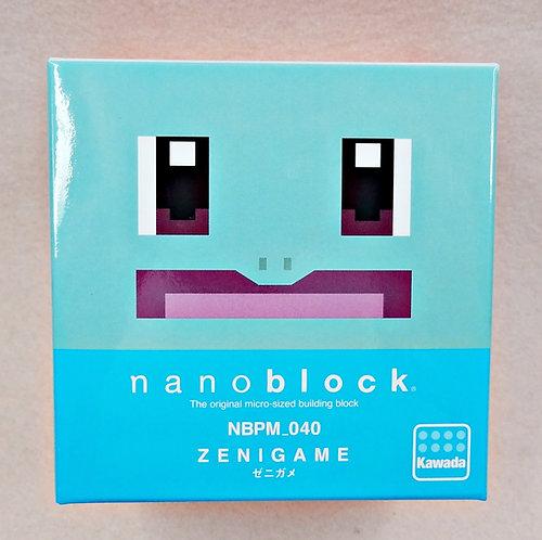 nanoblock NBPM_040 Pokemon Zenigame