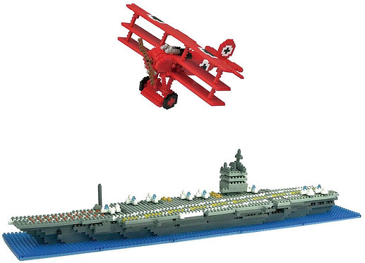 A003 USS Enterprise and Red Baron