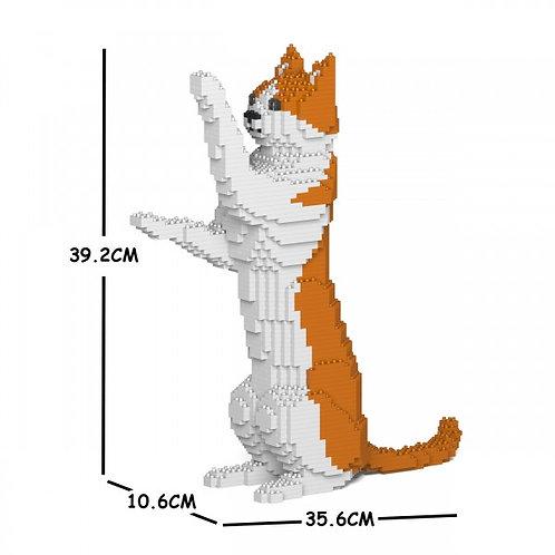 Orange & White Cat 22S-M01 (需訂貨)