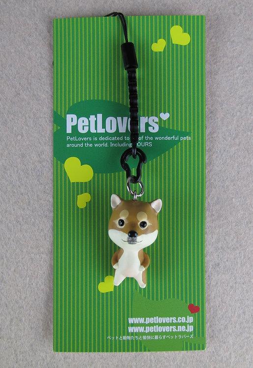 D01099 Petlovers 電話繩 - 柴犬