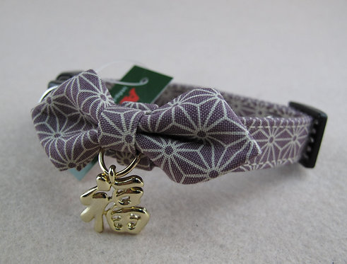 D01407_2 Amo.k日本製和風福字頸飾 - 紫(M)