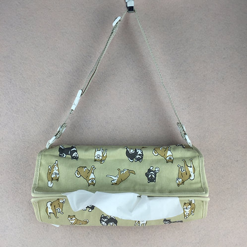 D01401 柴犬紙巾套(車座位用)