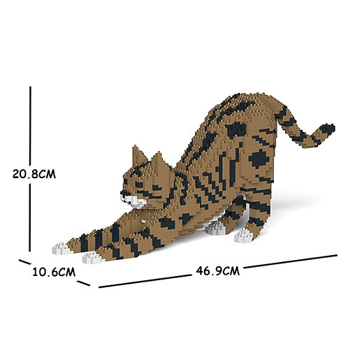Brown Tabby Cat 05S-M04 (需訂貨)