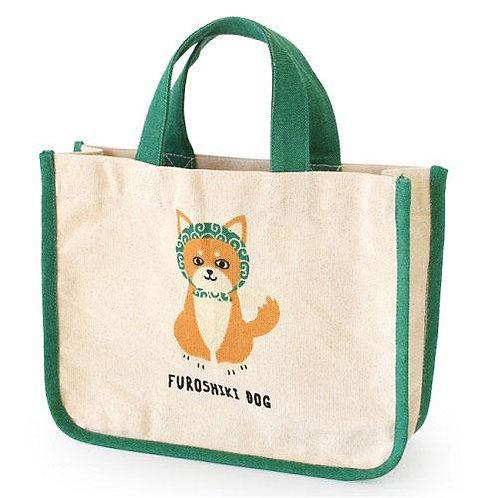 D02996 Furoshiki Dog便當袋_風呂敷柴犬