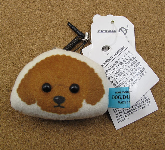 D00571 貴婦犬防塵塞 / 掛飾