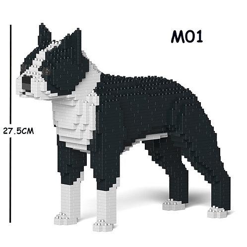 波士頓㹴 Boston Terrier 01S-M01 S size (需訂貨)