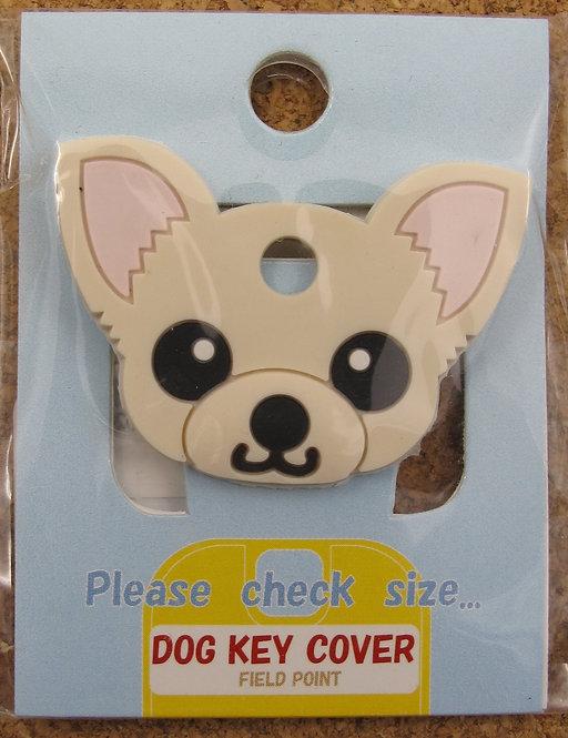 D00365 狗狗匙套 Dog Key Cover 芝娃娃(白)