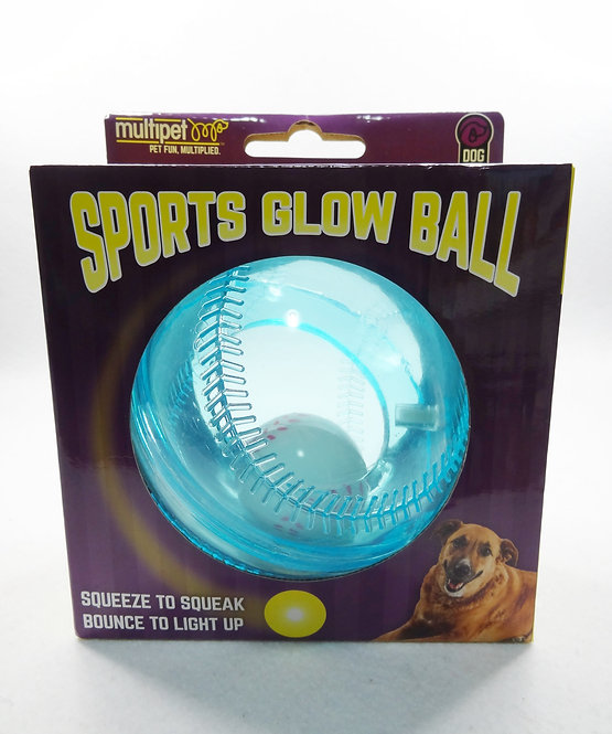 D01988 Doglucent Light-Ups Baseball w/ Inner Ball