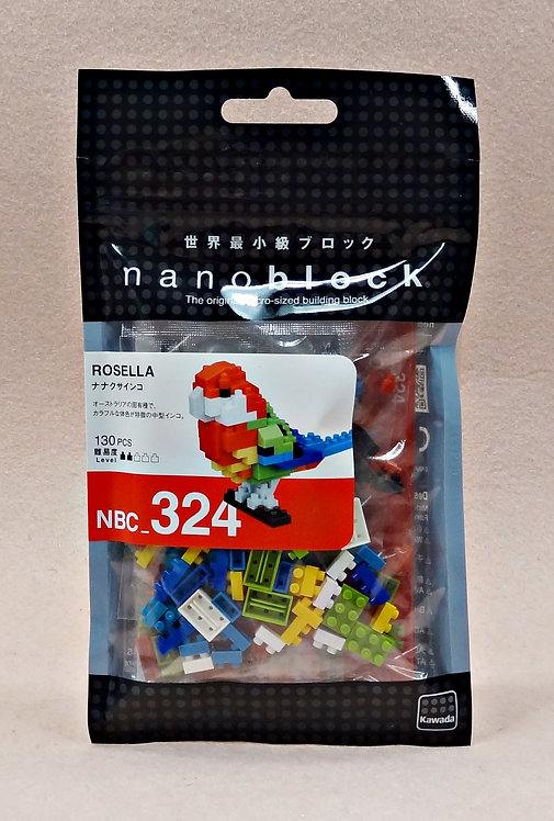 nanoblock NBC_324 Rosella