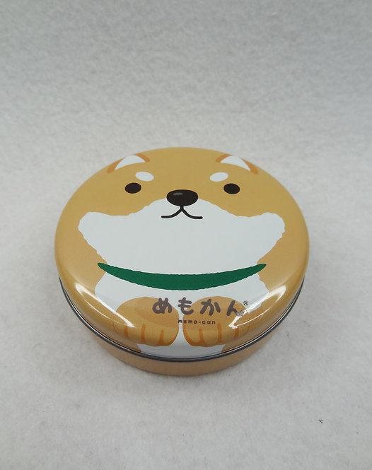 D01928 柴犬鐵盒memo set