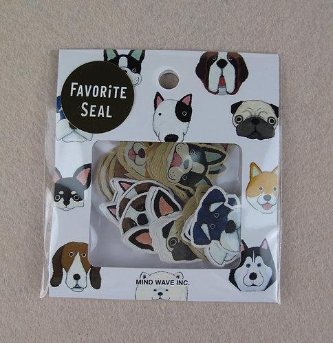 D00985 Mind Wave Favorite Seal 貼紙
