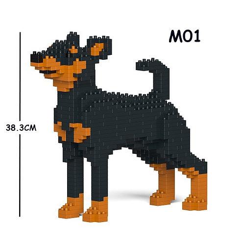 迷你品 Miniature Pinscher 01C-M01 M size (需訂貨)