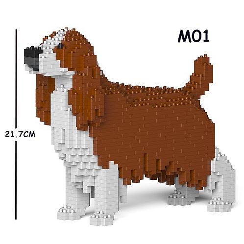 史賓格犬 English Springer Spaniel 01S-M01 S size (需訂貨)