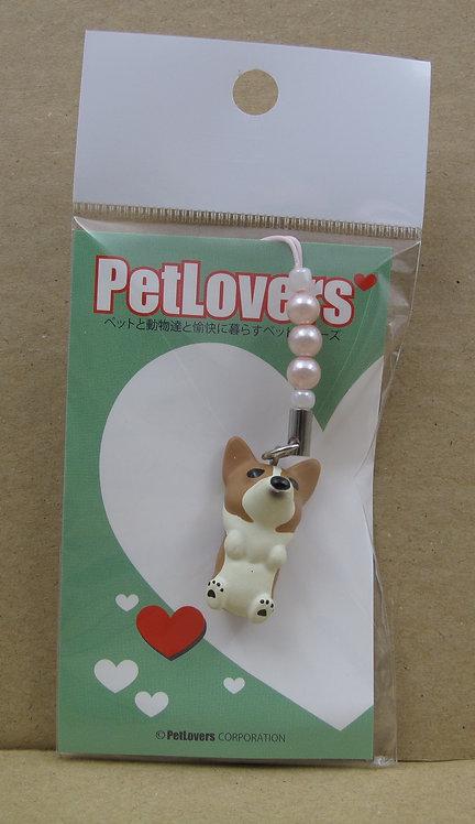 D00591 PetLovers 立體哥基電話繩 (赤色)