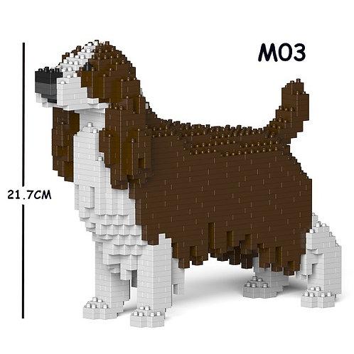史賓格犬 English Springer Spaniel 01S-M03 S size (需訂貨)