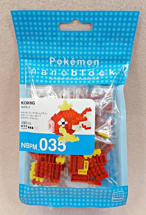 nanoblock NBPM_035 Pokemon Koiking