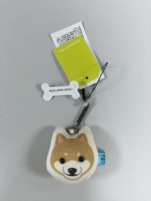 D00889 柴犬螢幕清潔掛飾 / 防塵塞