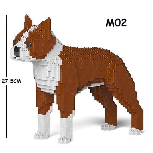 波士頓㹴 Boston Terrier 01S-M02 S size (需訂貨)