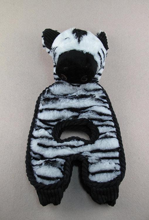 D01519 Charming Pet - Cuddle Tugs Zebra