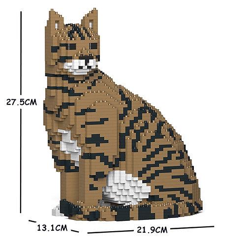 Brown Tabby Cat 02S-M04 (需訂貨)