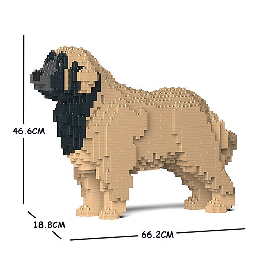 蘭伯格犬 Leonberger 01C-M02 M size (需訂貨)