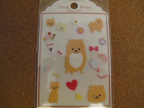 D00004 Dog Seal 松鼠貼紙