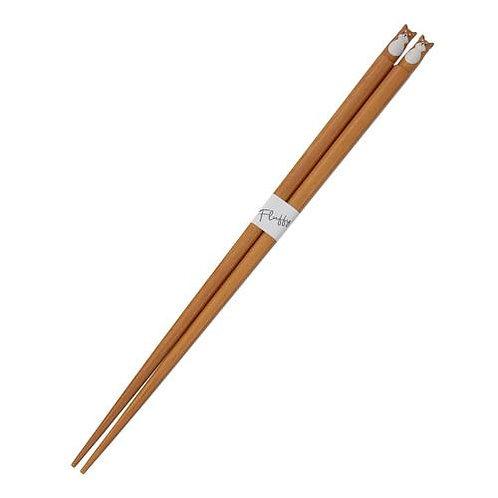 D02846 Fluffy柴犬筷子
