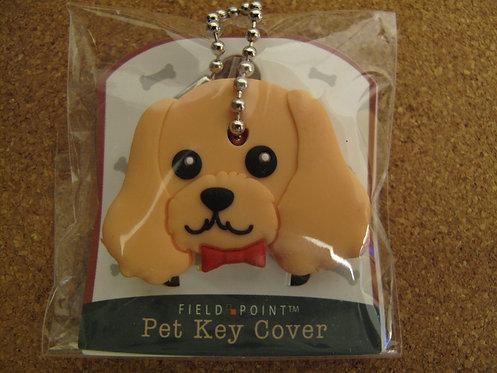 D00228 Field Point 狗狗頭型匙套- 美國曲架犬