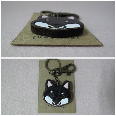D00653 黑柴木匙扣