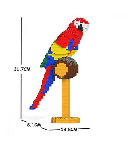 Jekca 金剛鸚鵡 Macaw 01S (需訂貨)