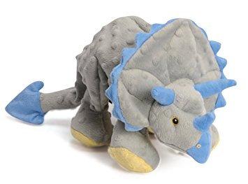 D02416_1 GoDog Dinos - Grey Triceratops Small