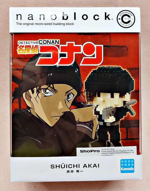 nanoblock CN-20 Charanano Akai Shuichi