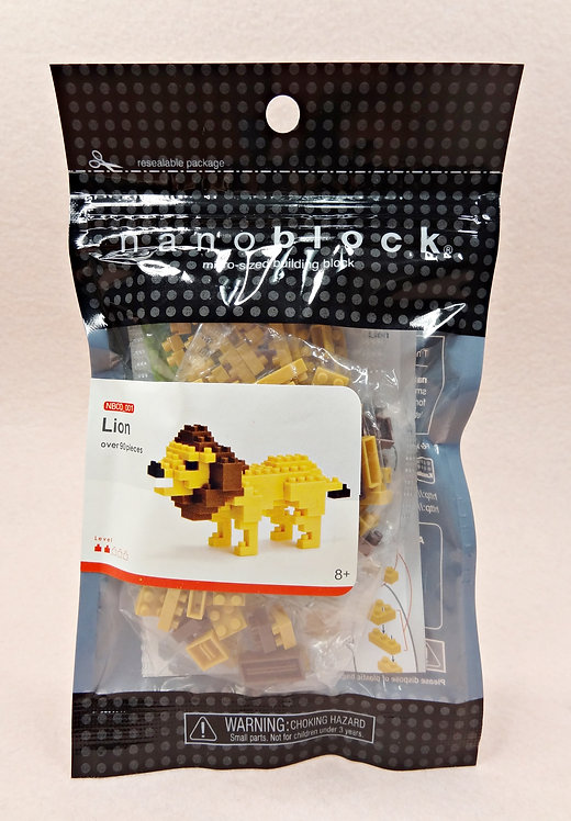 nanoblock NBCO_001 Lion