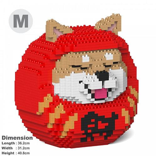 柴犬達摩 Shiba Daruma Doll 01C-M01 (需訂貨)