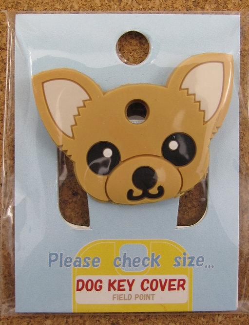 D00359 狗狗匙套 Dog Key Cover 芝娃娃 (淺啡)