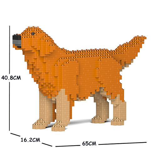 金毛尋回犬 Golden Retriever 02C-M02 M size (需訂貨)