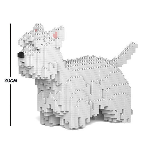 西高地白㹴犬 West Highland White Terrier 01S S size(需訂貨)