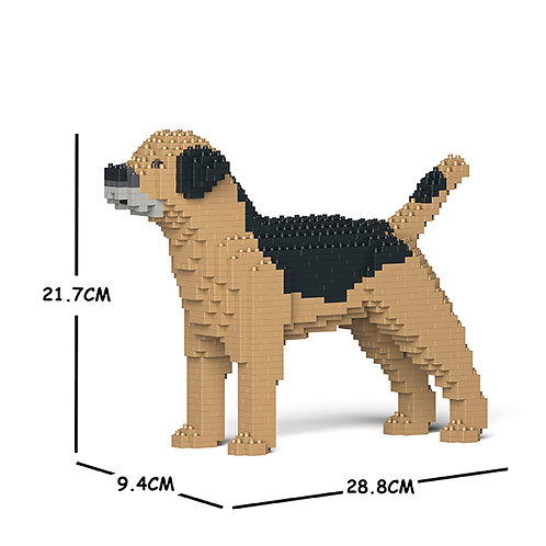 邊境㹴 Border Terrier 01S-M01 S size (需訂貨)