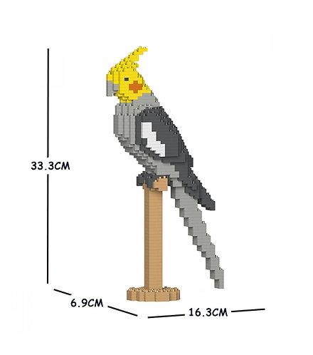 Jekca 雞尾鸚鵡 Cockatiel 02S (需訂貨)