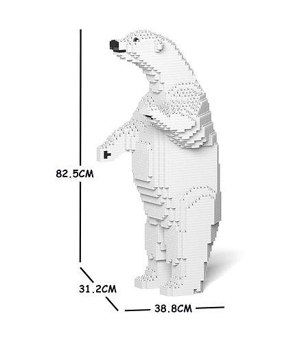 Jekca 北極熊 Polar Bear 02C (需訂貨)
